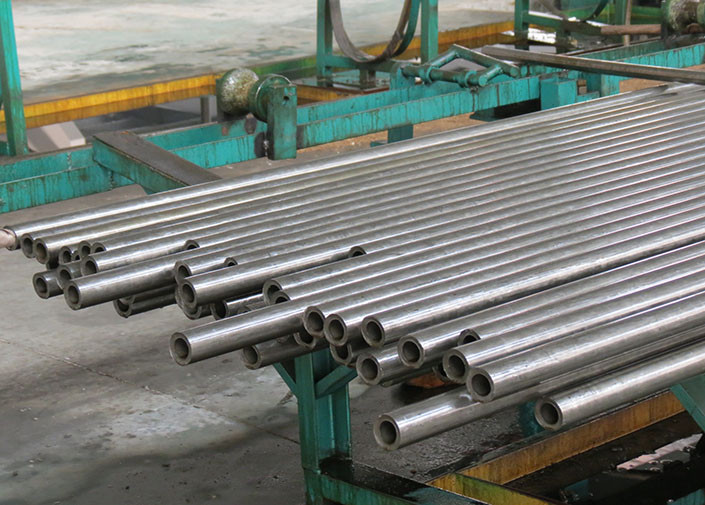 ST35 / ST45 / ST55 Mild Carbon Cold Drawn Seamless Steel Pipe For Engineering Machinery